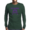 Purple Ford Escort Old School Classic Car Mens Long Sleeve T-Shirt
