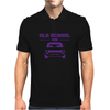 Purple Ford Escort Old School Classic Car Mens Polo