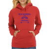 Purple Ford Escort Old School Classic Car Womens Hoodie