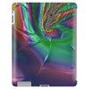 Purple Green Rainbow Dented Pillow Fractal Tablet (vertical)