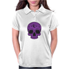 Purple Hellion Skull Womens Polo