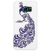 Purple Peacock Phone Case