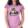 Purr-Fectly Adorable Kitten Womens Fitted T-Shirt