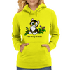 Purr-Fectly Adorable Kitten Womens Hoodie