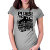 Push Limit Steet Tic Tac Womens Fitted T-Shirt