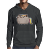 Pusheen Cat Rainbow Unicorn Kitty Mens Hoodie