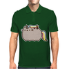 Pusheen Cat Rainbow Unicorn Kitty Mens Polo