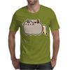 Pusheen Cat Rainbow Unicorn Kitty Mens T-Shirt