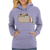 Pusheen Cat Rainbow Unicorn Kitty Womens Hoodie