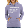 Put The Alphabet In Math Womens Hoodie