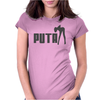 PUTA FUNNY SEX Womens Fitted T-Shirt