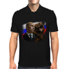 Putin And Bear Mens Polo