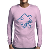Puzzle Piece Mens Long Sleeve T-Shirt