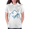 Puzzle Piece Womens Polo