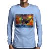 Pyramids by the River Mens Long Sleeve T-Shirt