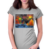 Pyramids by the River Womens Fitted T-Shirt