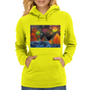 Pyramids by the River Womens Hoodie