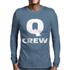 Q Crew Funny Impractical Jokers Mens Long Sleeve T-Shirt