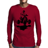 Quad Racer Mens Long Sleeve T-Shirt