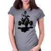 Quad Racer Womens Fitted T-Shirt