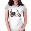 Quadrophenia Lambtetta Mod Vespa Womens Fitted T-Shirt