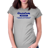Quantum Beach - Waves not guaranteed but theoretically probable Womens Fitted T-Shirt