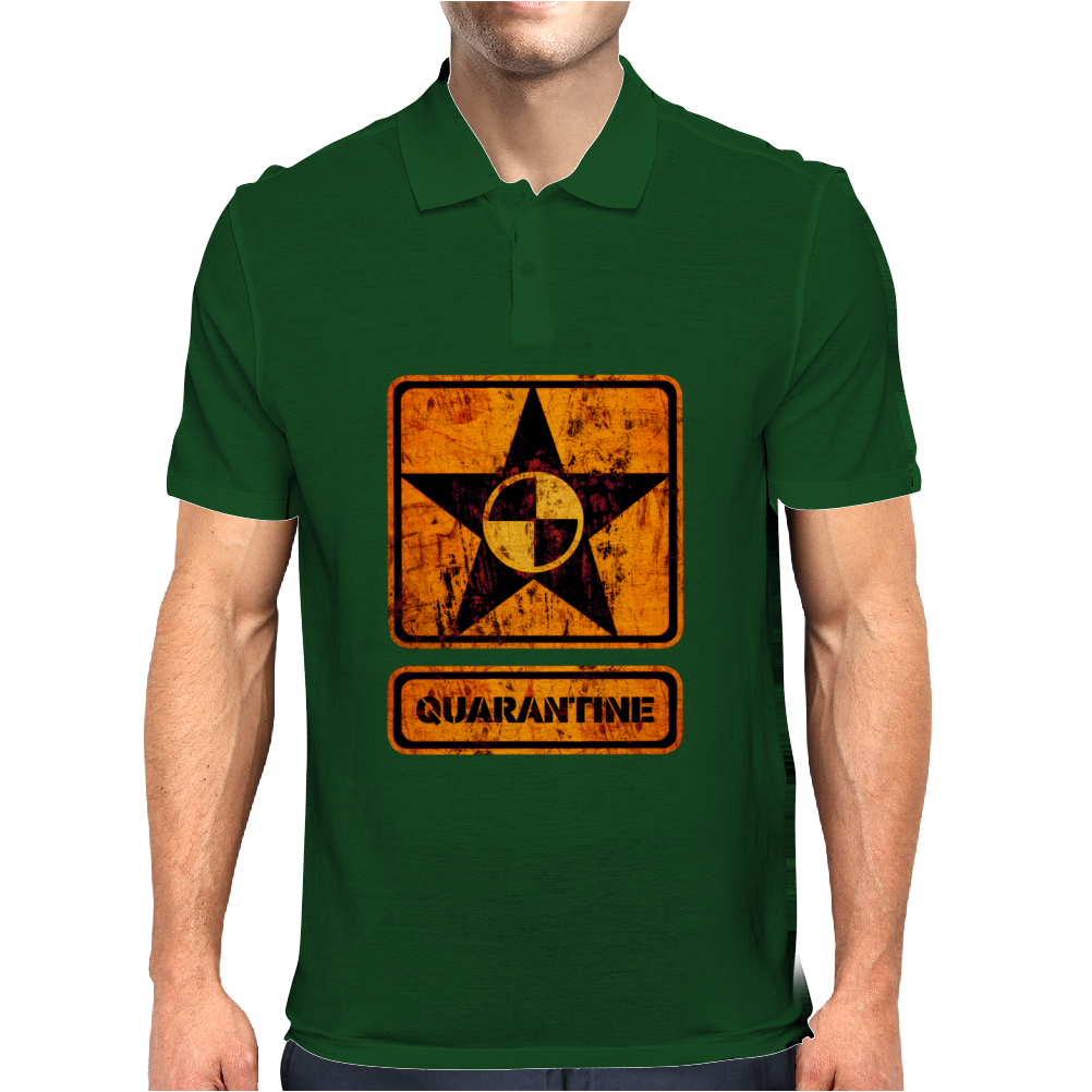 quarantine Mens Polo