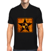 quarantine star Mens Polo
