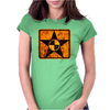 quarantine star Womens Fitted T-Shirt
