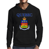 Quebec Coat Of Arms Canada Mens Hoodie