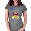 Quebec Coat Of Arms Canada Womens Fitted T-Shirt