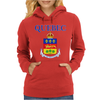 Quebec Coat Of Arms Canada Womens Hoodie