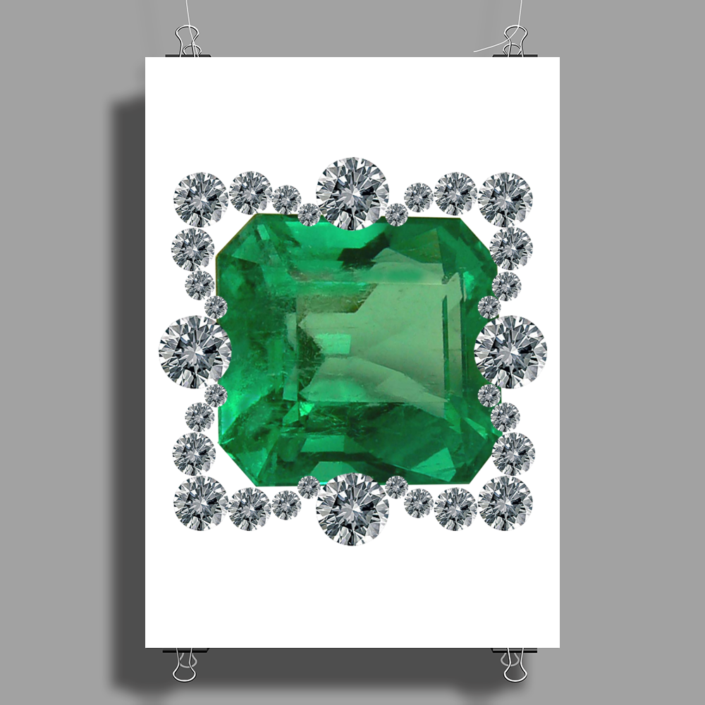 Queen Margherita Pin Poster Print (Portrait)