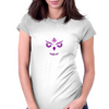 Queen Owl Womens Fitted T-Shirt