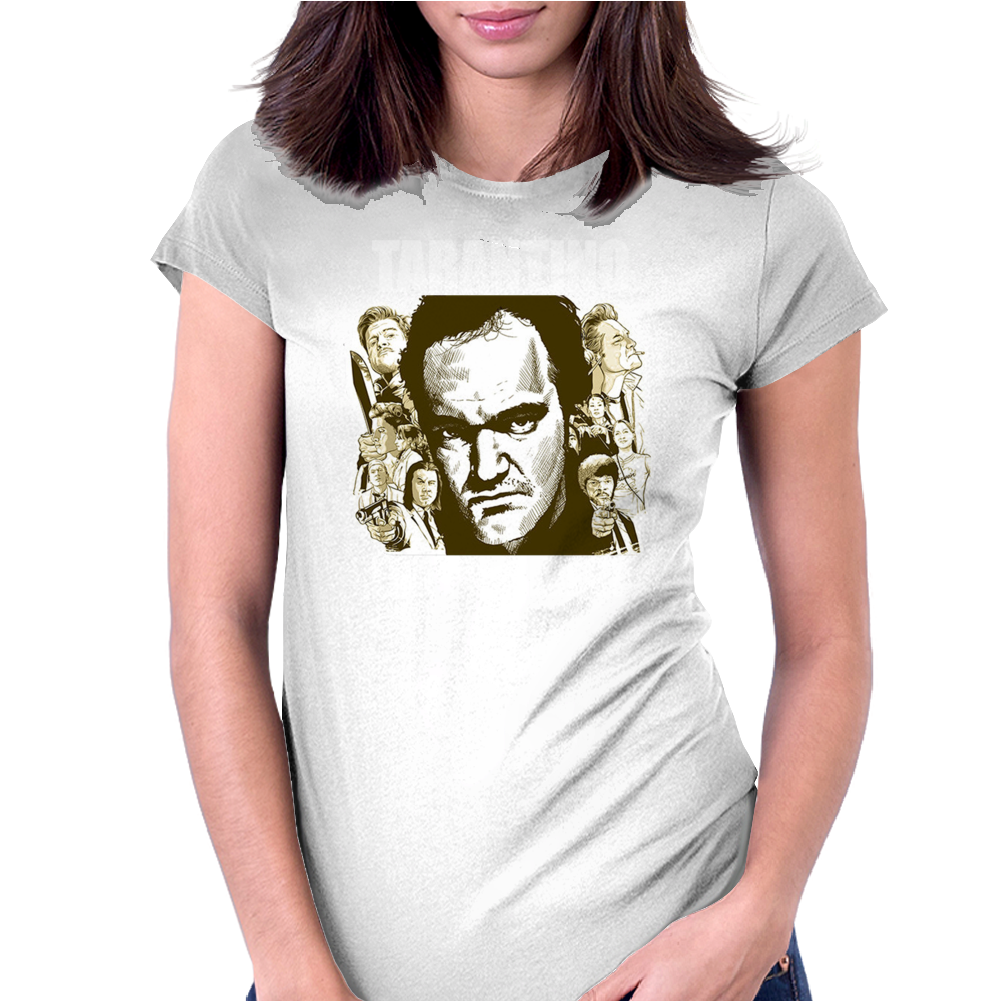 Quentin Tarantino for President Womens Fitted T-Shirt