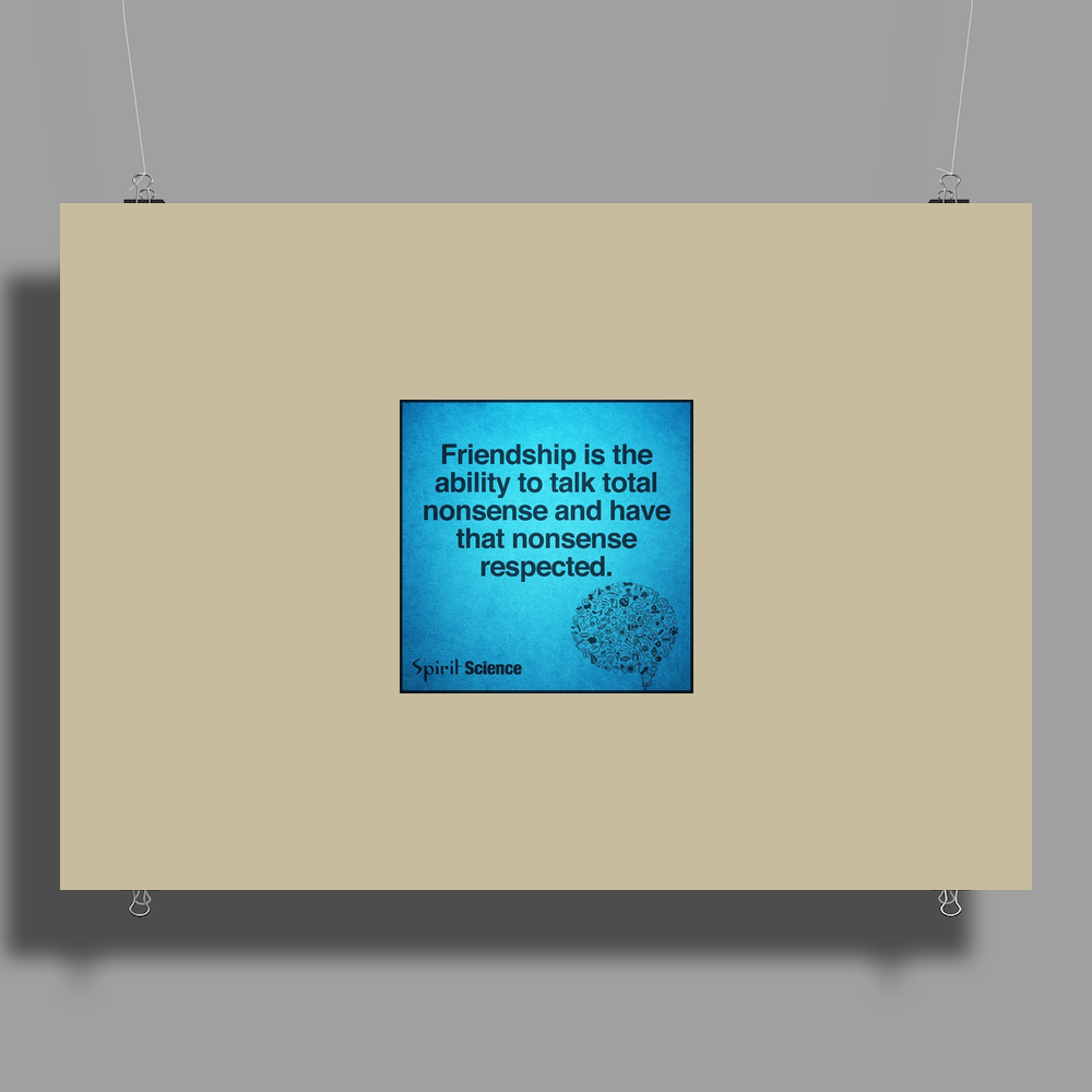 quotes tshirts, wall arts,posters,mobile cases,lapetop cases Poster Print (Landscape)