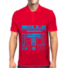 R2-D2 Droid Vintage Star Wars Mens Polo