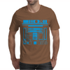 R2-D2 Droid Vintage Star Wars Mens T-Shirt