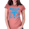 R2-D2 Droid Vintage Star Wars Womens Fitted T-Shirt