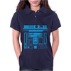 R2-D2 Droid Vintage Star Wars Womens Polo