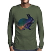 rabbit 3d Mens Long Sleeve T-Shirt