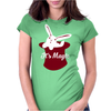 Rabbit In Hat Magic Womens Fitted T-Shirt