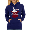 Rabbit In Hat Magic Womens Hoodie