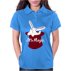 Rabbit In Hat Magic Womens Polo