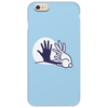 Rabbit Shadow Hand Phone Case