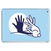 Rabbit Shadow Hand Tablet