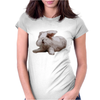 Rabbit Womens Fitted T-Shirt