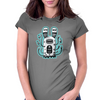 Rabbit wormed Womens Fitted T-Shirt