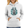 Rabbit wormed Womens Hoodie