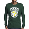 Raccoon Police Mens Long Sleeve T-Shirt